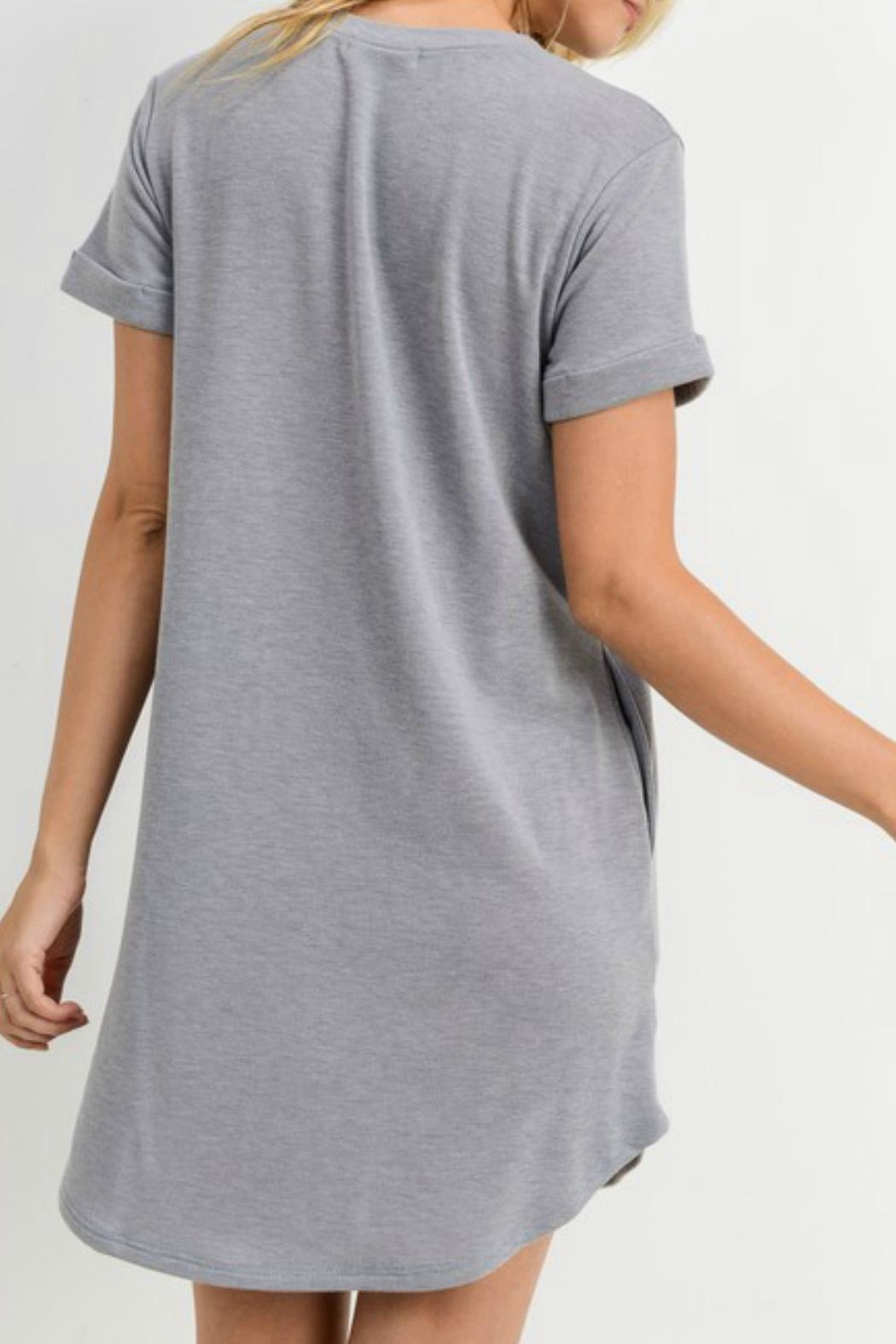 ALB Anchorage Pull-Over T-Shirt Dress - Front Full Image