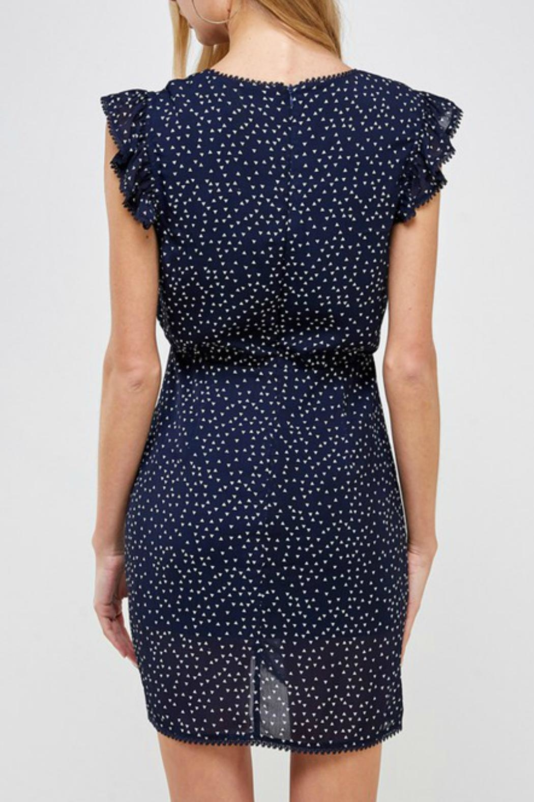 ALB Anchorage Ruffle Dress - Front Full Image