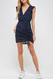 ALB Anchorage Ruffle Dress - Back cropped