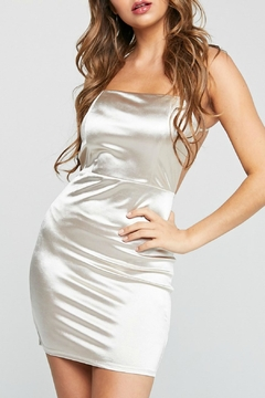 ALB Anchorage Satin Mini Dress - Product List Image