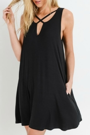 ALB Anchorage Sleeveless Swing Dress - Front cropped