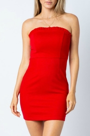 ALB Anchorage Strapless Bodycon Dress - Front cropped