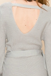 ALB Anchorage Sweater-Dress With Belt - Back cropped