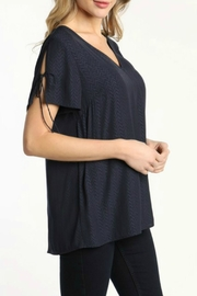 ALB Anchorage Tulip Pleat Top - Side cropped
