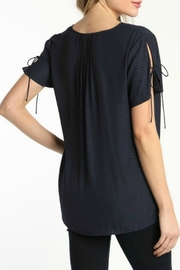 ALB Anchorage Tulip Pleat Top - Front full body