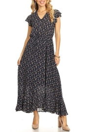ALB Anchorage V-Neck Floral Maxi-Dress - Product Mini Image