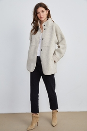 Velvet by Graham & Spencer  Albany Lux Sherpa Jacket - Product Mini Image