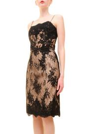 Alberre Odette Lace Cocktail Dress - Front full body