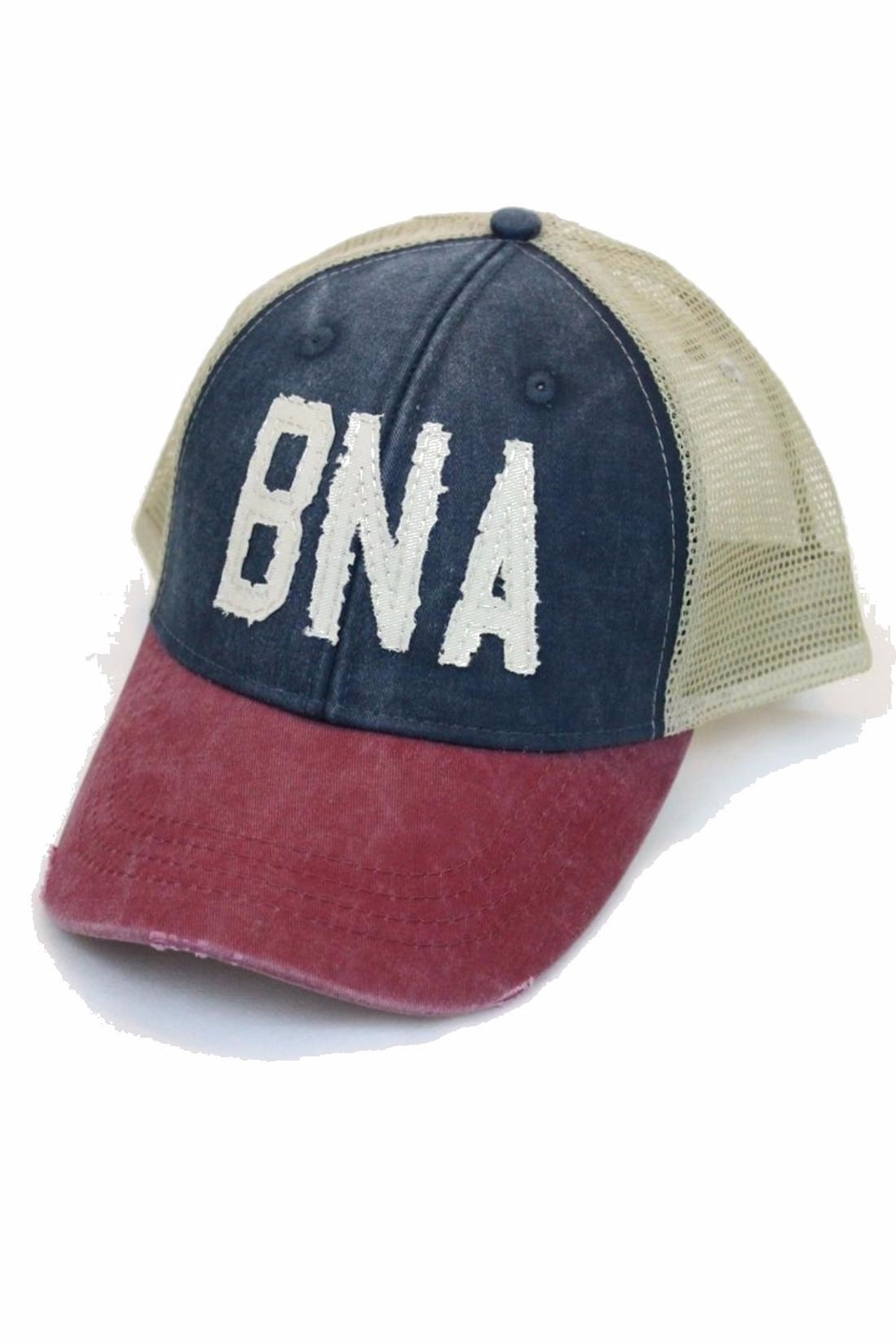 Albers Design Bna Trucker Hat - Front Cropped Image