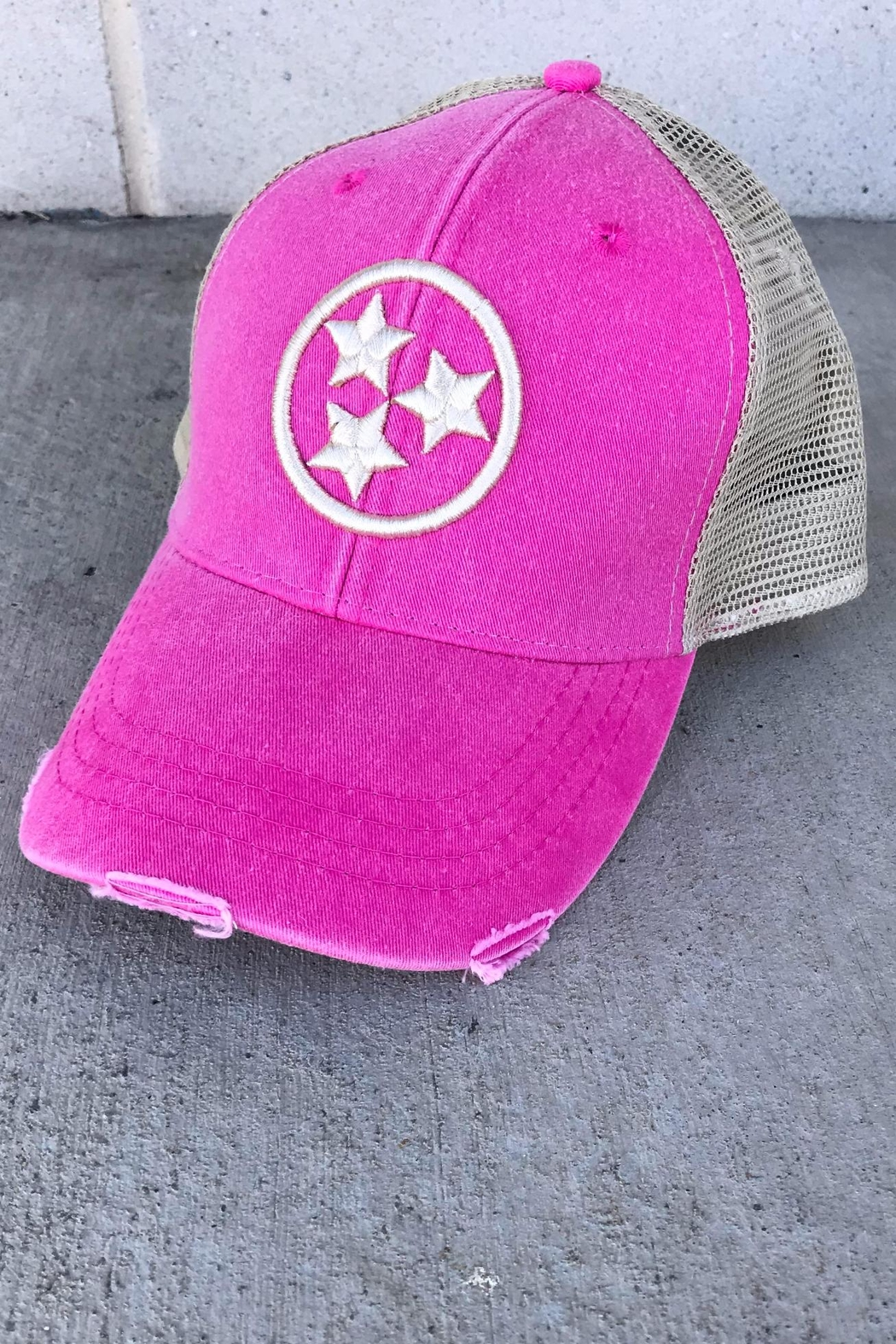 39c19ad4 Albers Design Tristar Trucker Hat from Nashville by JeweLL Fashion ...