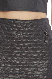 Alberto Makali Faux Leather Pencil Skirt - Side cropped