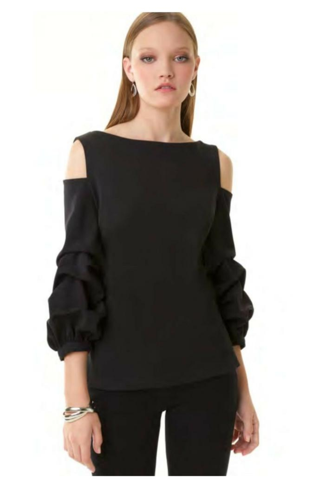 0bc631ec4f17e4 Alberto Makali Cold Shoulder Top from Wallingford by The Dressing ...