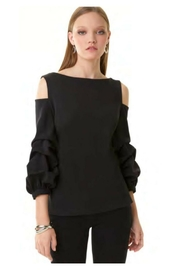 Alberto Makali Cold Shoulder Top - Product Mini Image