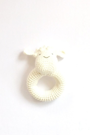 Albetta Crochet Lamb Rattle - Product Mini Image