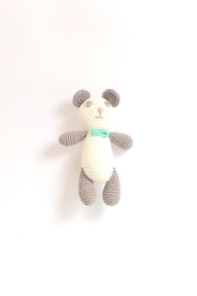 Albetta Crochet Panda Rattle - Product Mini Image