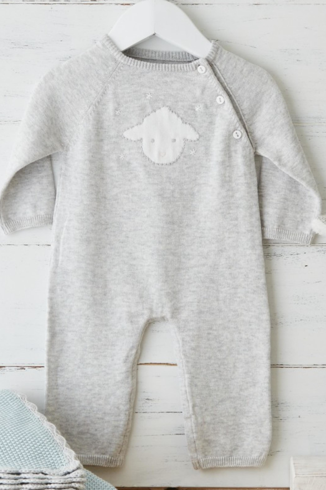 Albetta Little Lamb Onsie - Front Cropped Image