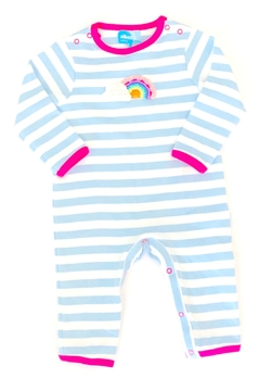 Shoptiques Product: Rainbow Striped Onesie