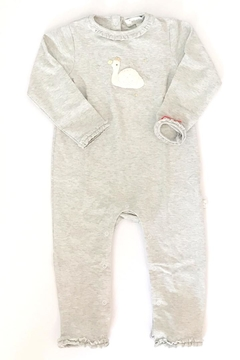 Shoptiques Product: Swan Ruffle Onesie