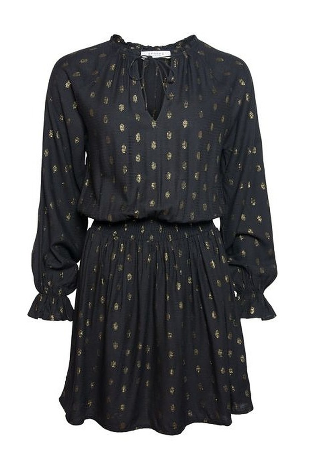 Sparkz Albina Shirt Dress - Side Cropped Image