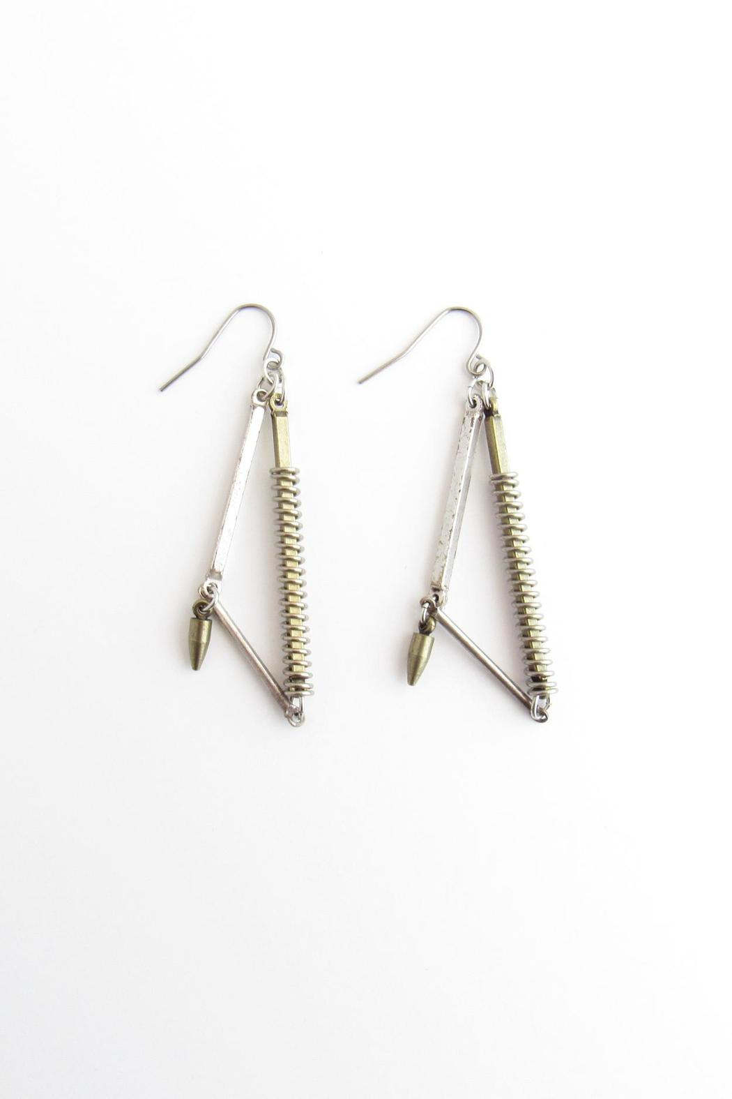 Alchemy Metal Earrings - Main Image