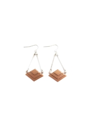 Alchemy Mixed Metal Earrings - Product Mini Image