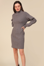 Line & Dot Alder Sweater Dress - Product Mini Image