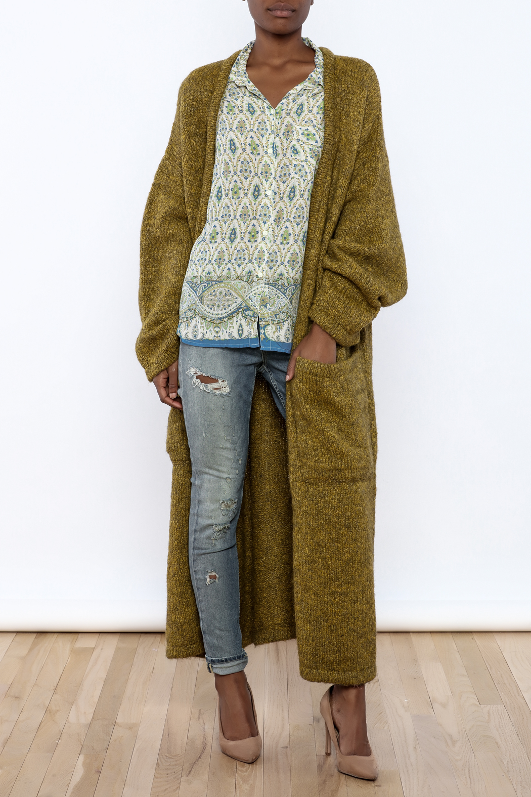 Alembika Oversized  Sweater Coat - Main Image
