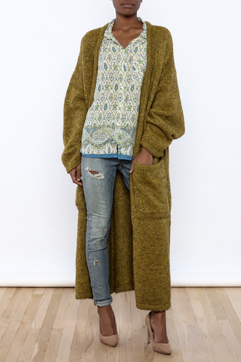 Shoptiques Product: Oversized  Sweater Coat - main
