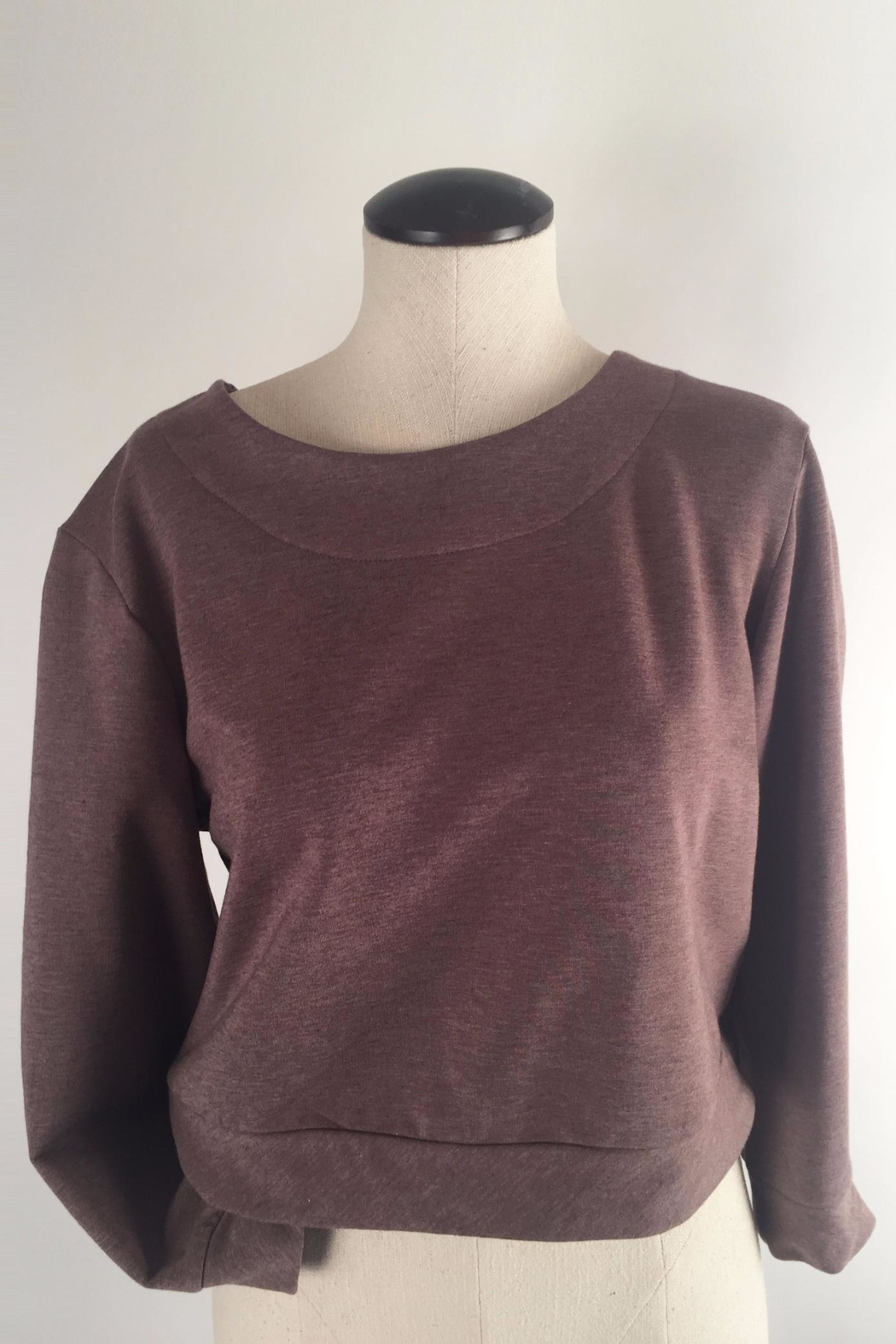 Alena Bamboo Fleece Sweatshirt - Side Cropped Image