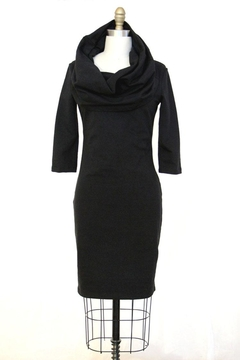 Shoptiques Product: Cotton/lycra Cowlneck Dress