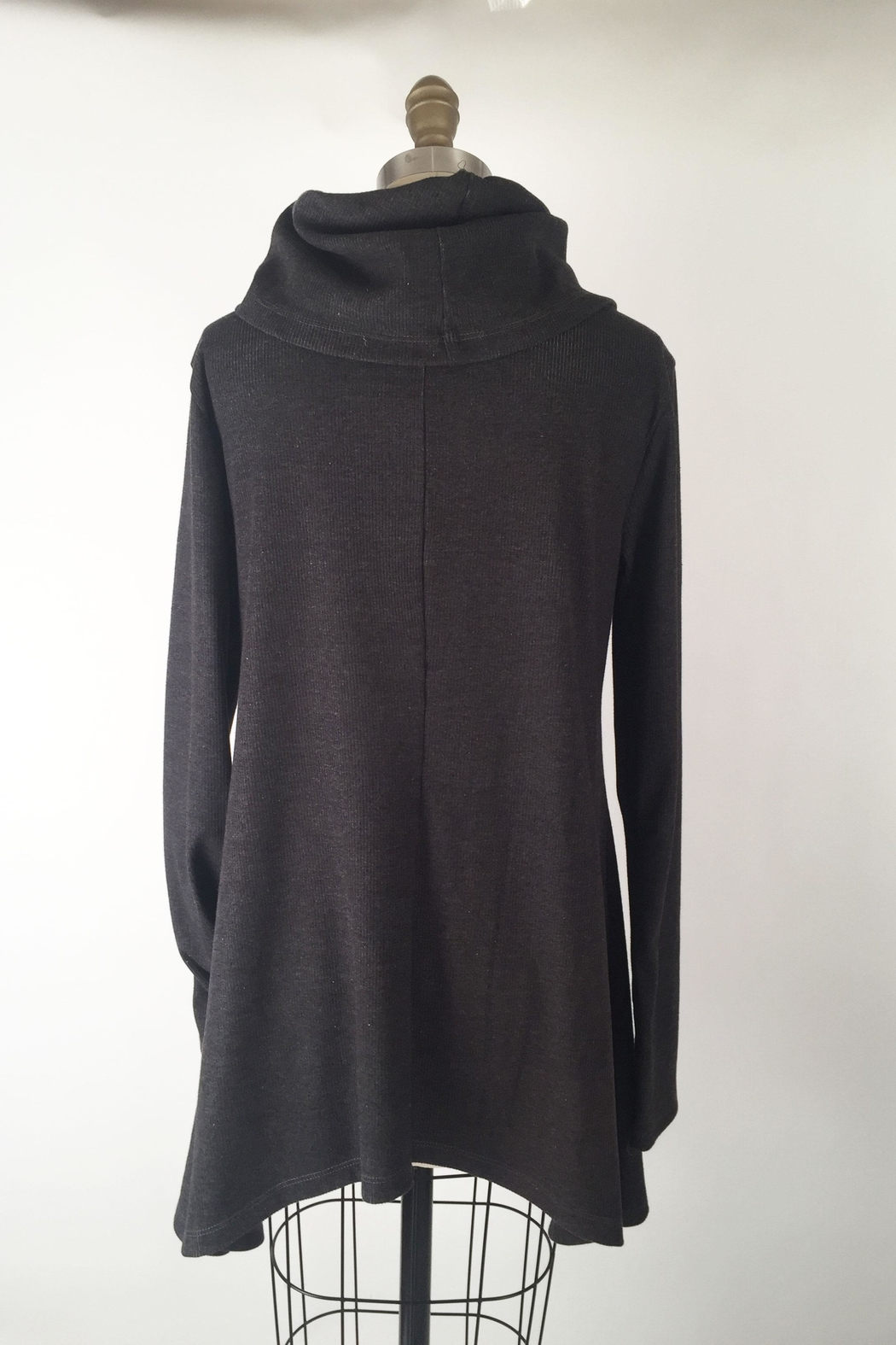 Alena Cowlneck A-Line Tunic - Front Full Image