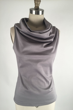 Shoptiques Product: Sleeveless Cowlneck Top
