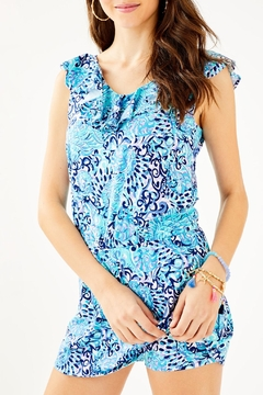 Lilly Pulitzer Alessa Romper - Product List Image