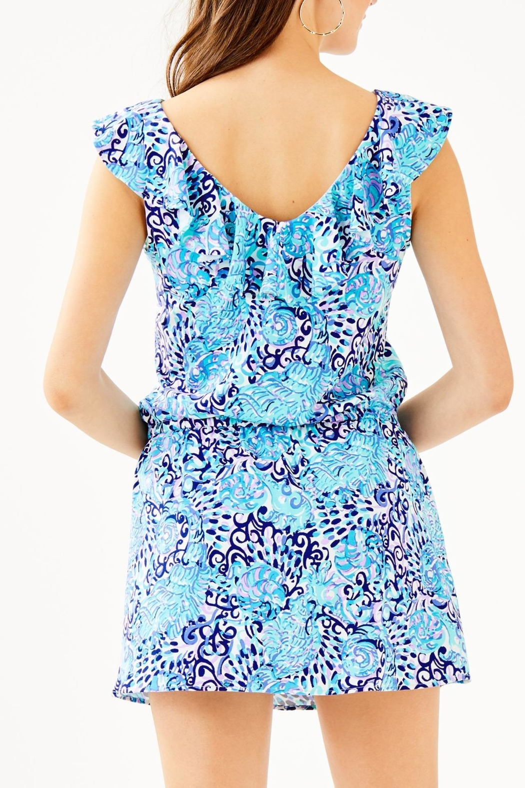 Lilly Pulitzer Alessa Romper - Front Full Image