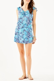 Lilly Pulitzer Alessa Romper - Back cropped