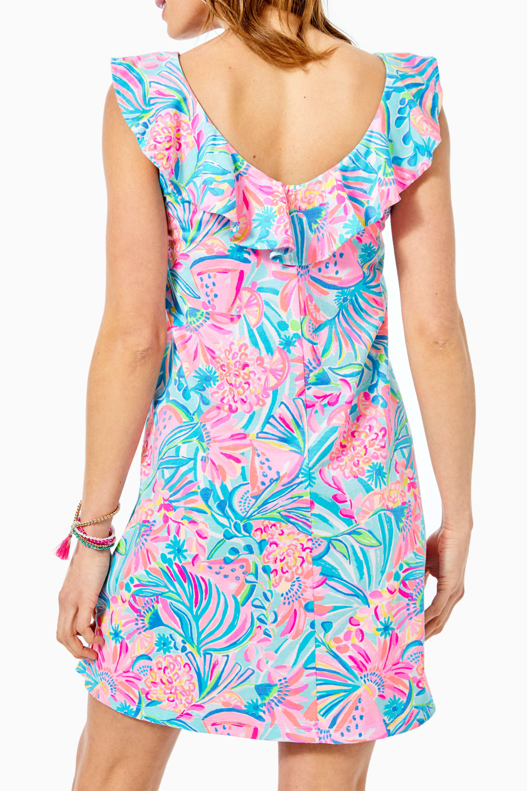 Lilly Pulitzer  Alessa Swing Dress - Side Cropped Image