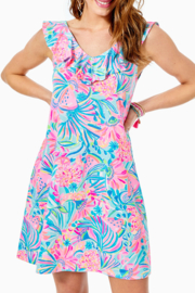 Lilly Pulitzer  Alessa Swing Dress - Front cropped