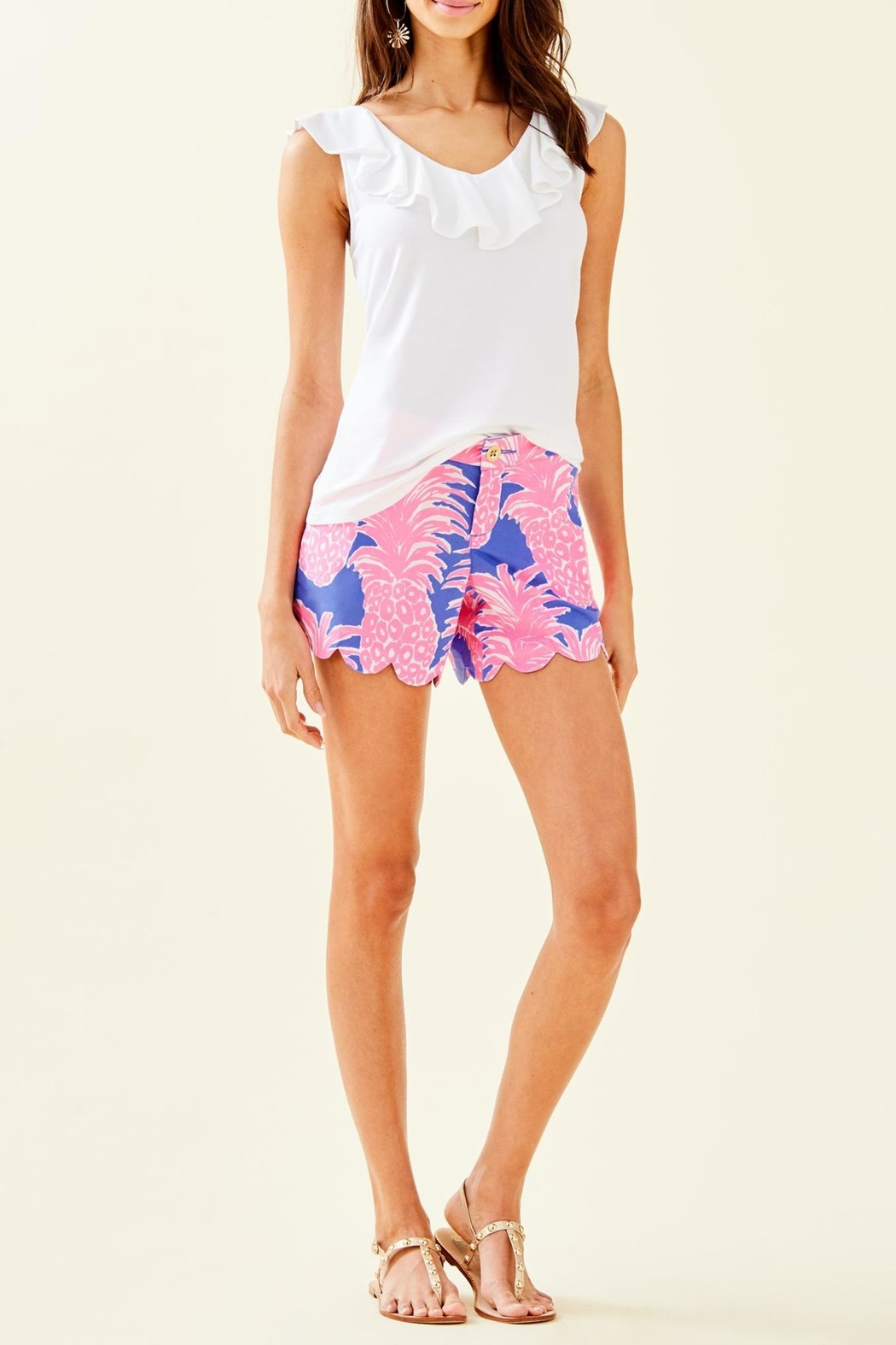 Lilly Pulitzer Alessa Top - Side Cropped Image