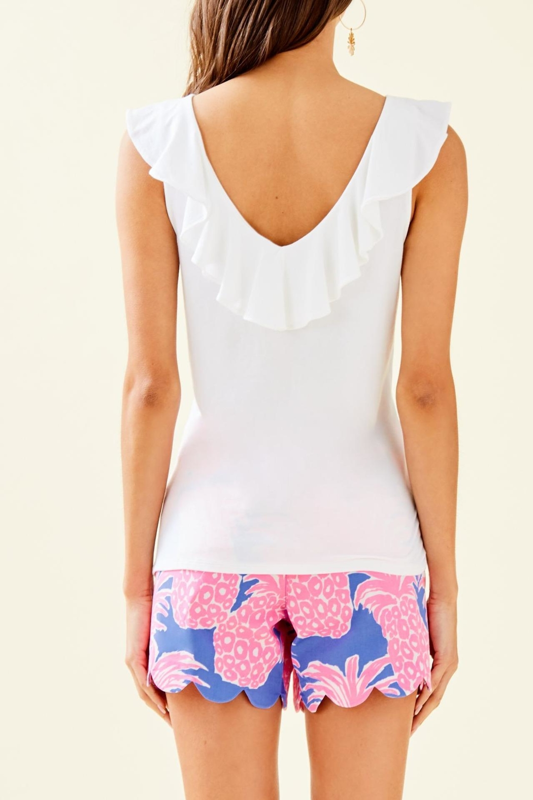 Lilly Pulitzer Alessa Top - Front Full Image
