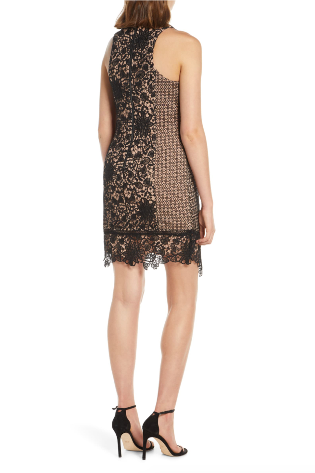 Adelyn Rae Alessia Lace Dress - Front Full Image