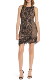Adelyn Rae Alessia Lace Dress - Front cropped