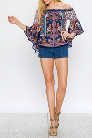 Flying Tomato Aletta Off-The-Shoulder Top - Product Mini Image