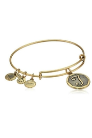 "Alex and Ani Alex And Ani Initial ""T"" Bracelet - Product Mini Image"