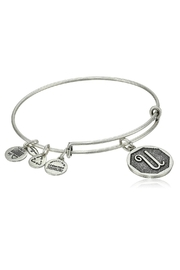 "Alex and Ani Alex And Ani Initial ""U"" Bracelet - Front cropped"
