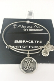 "Alex and Ani Alex And Ani Initial ""X"" Bracelet - Product Mini Image"