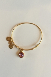 "Alex and Ani Alex And Ani Birthstone ""October"" Expandable Bangle - Product Mini Image"