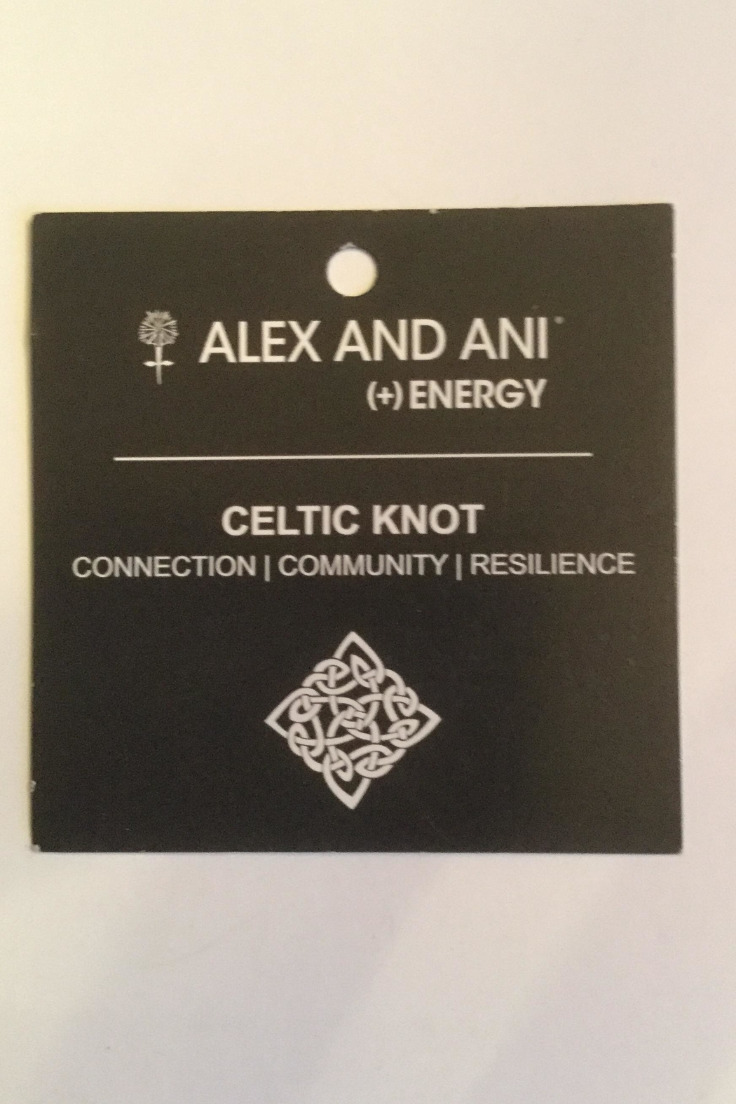 "Alex and Ani Alex And Ani Charity ""Celtic Knot"" Expandable Bangle - Front Full Image"
