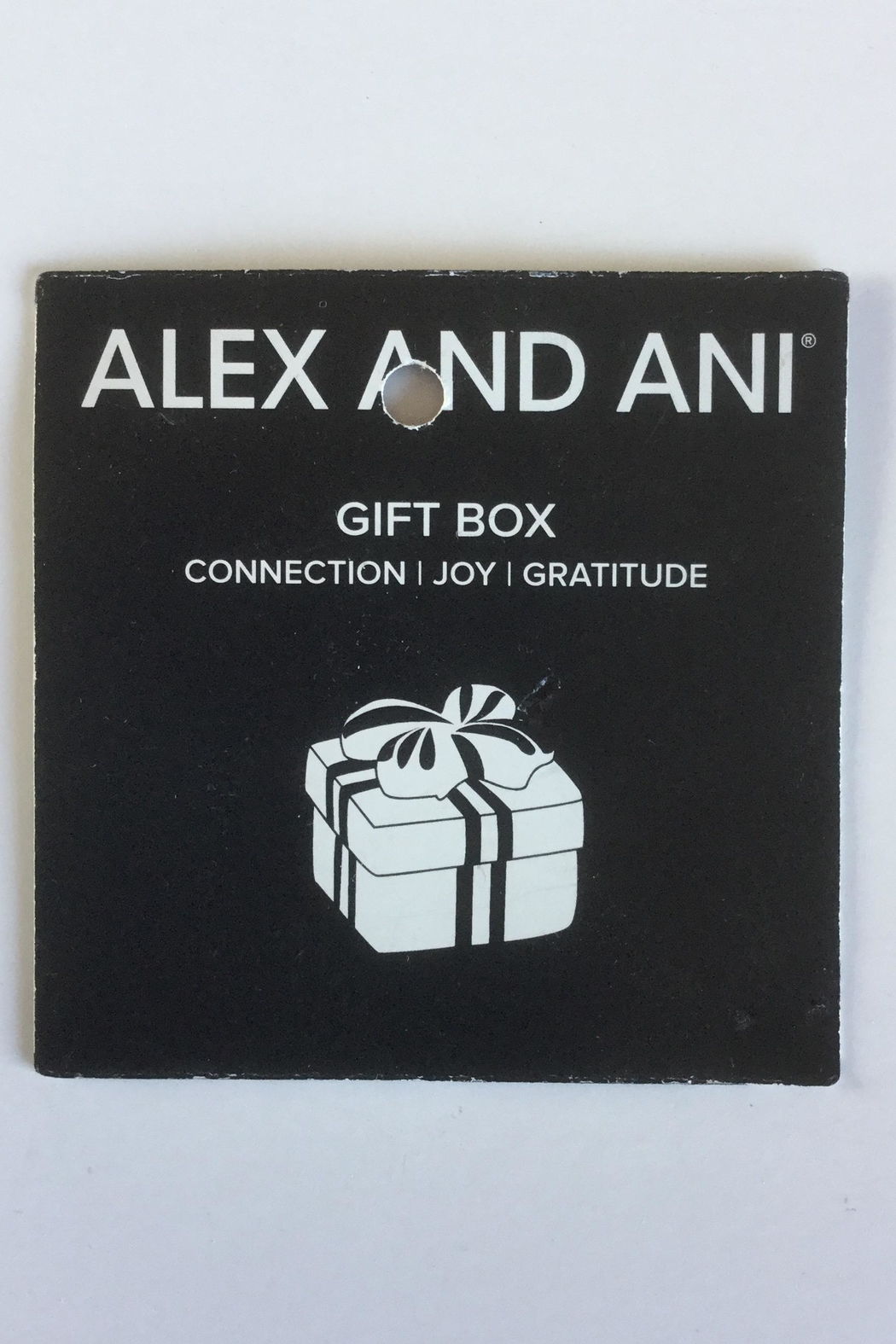 "Alex and Ani Alex And Ani Charity ""Gift Box"" American Cancer Society Bangle - Side Cropped Image"