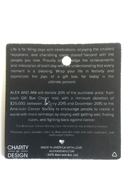 "Alex and Ani Alex And Ani Charity ""Gift Box"" American Cancer Society Bangle - Back cropped"