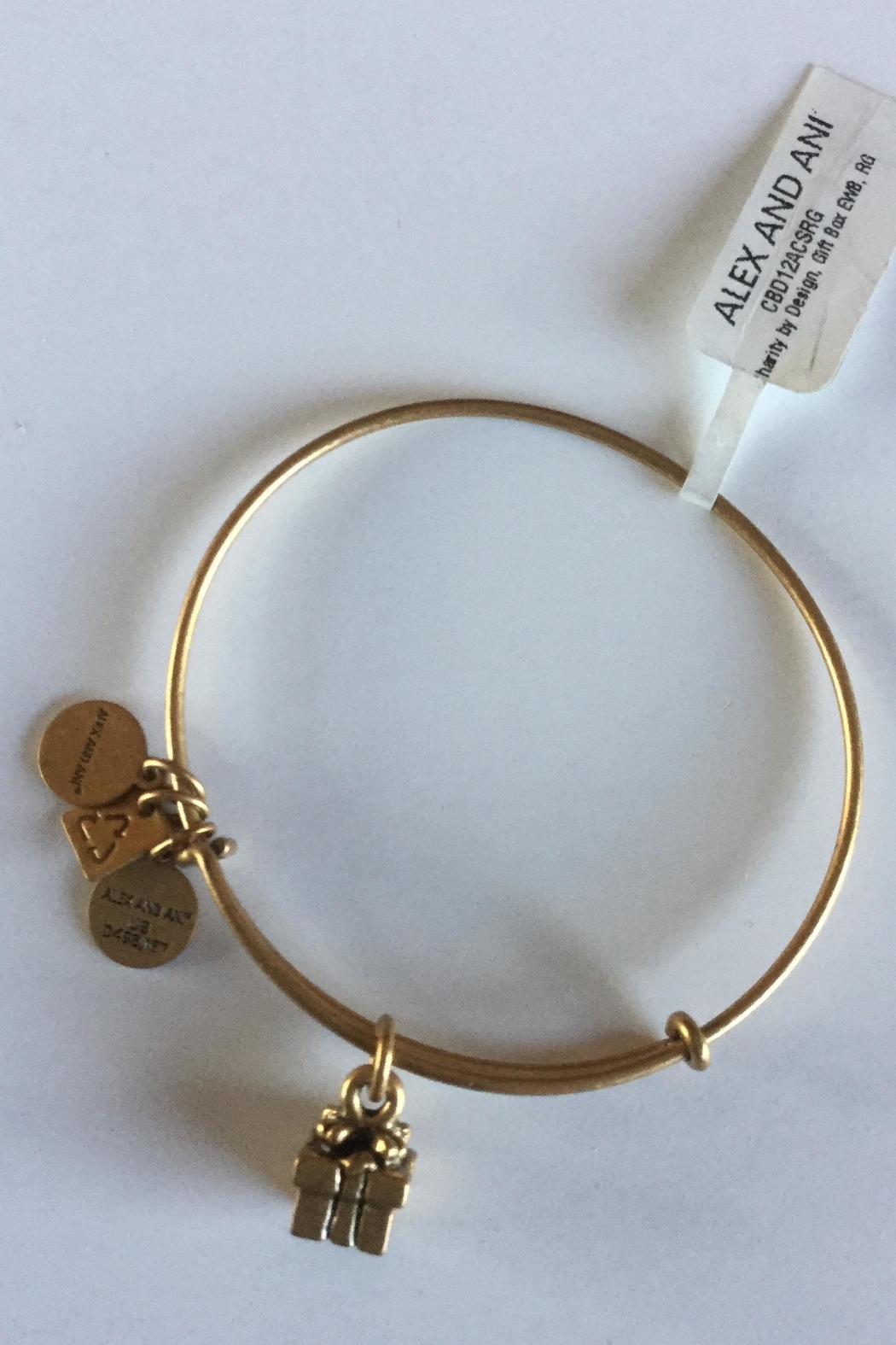 "Alex and Ani Alex And Ani Charity ""Gift Box"" American Cancer Society Bangle - Main Image"